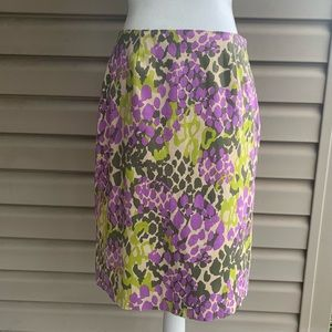 •Doncaster• Polished Cotton Pencil Skirt - Size 6